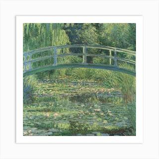 Water Lily Pond, Claude Monet Art Print