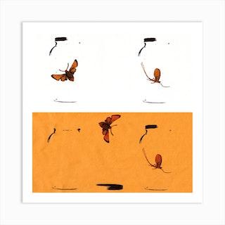 Butterfly Duplicate Art Print