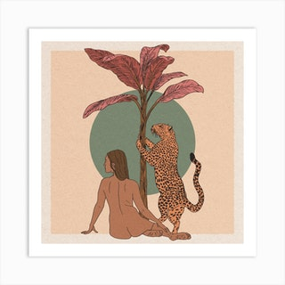 Desert Queen Art Print
