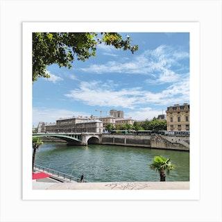 Paris In Summer Art Print