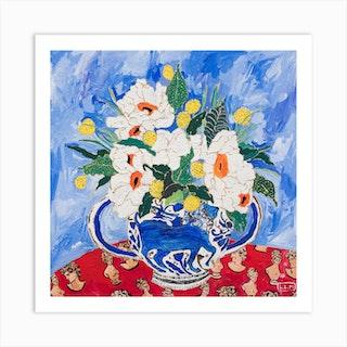 Queen Of California Poppy Art Print