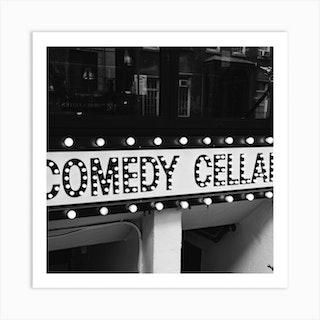 New York Comedy Cellar Square Art Print
