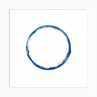 Full Circle 2 Square Art Print