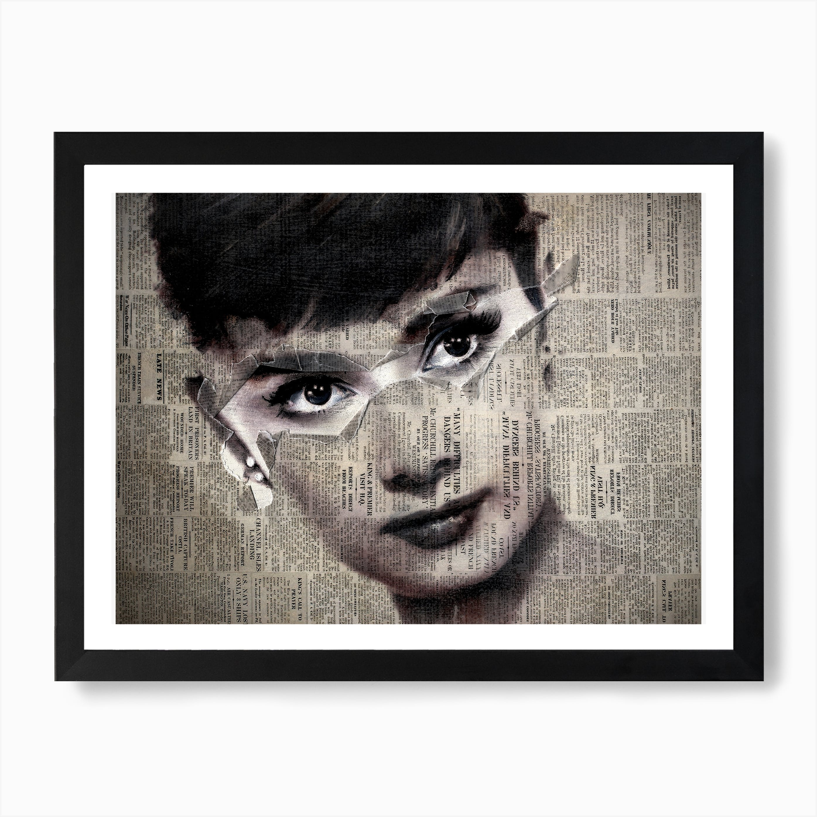 AUDREY HEPBURN CANVAS PICTURE PRINT WALL ART HOME DECOR FREE FAST DELIVERY