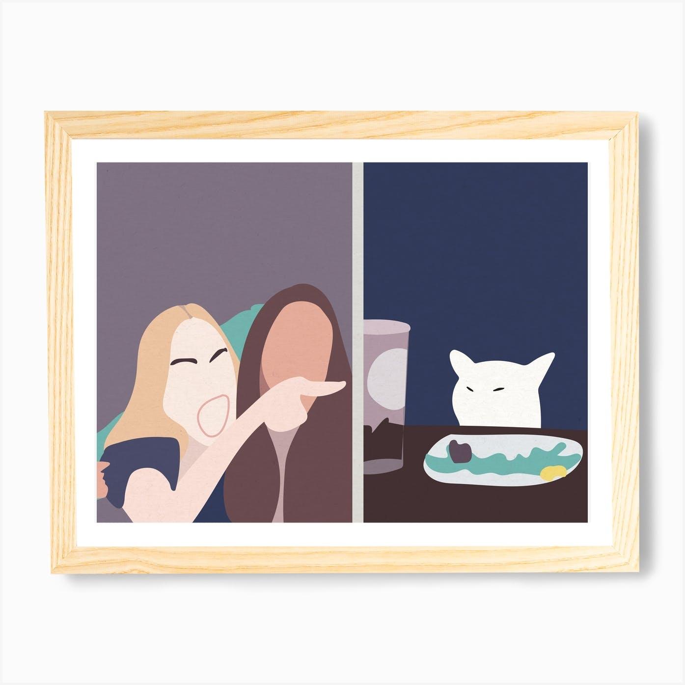 Art print Cat Landscape 59