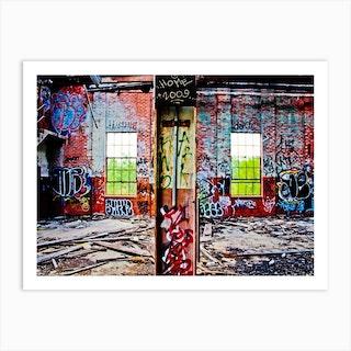 Graffiti 2 Art Print