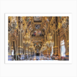 Grand Foyer Art Print