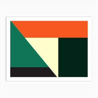 Geometric Abstraction 173 Art Print