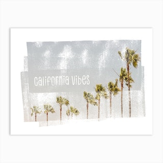 California Vibes Vintage Art Print