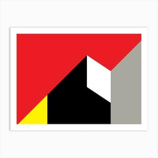 Geometric Abstraction 259 Art Print