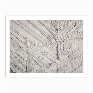 Alabaster Forest L1 Art Print
