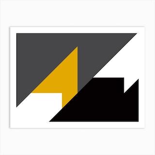 Geometric Abstraction 290 Art Print