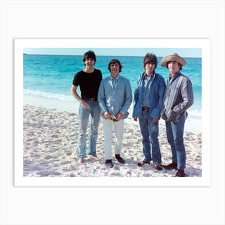 The Beatles Help Art Print