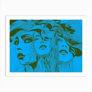 Danielle 4 Art Print