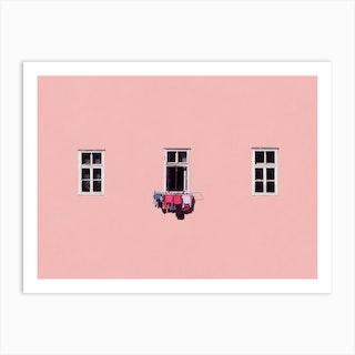 Laundry Day Art Print