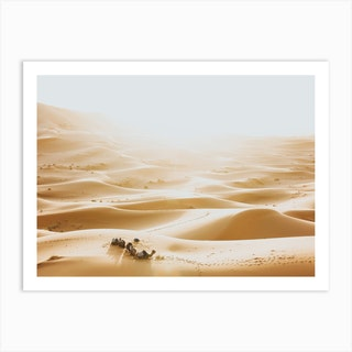 Merzouga Morocco Art Print