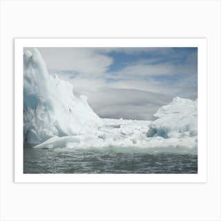 Chasing Ice 3 Art Print