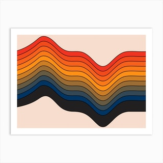 Highs And Lows Art Print