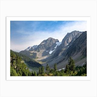 Cascade Valley Art Print