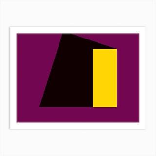 Geometric Abstraction 55 Art Print