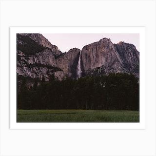 Yosemite Sunset Art Print