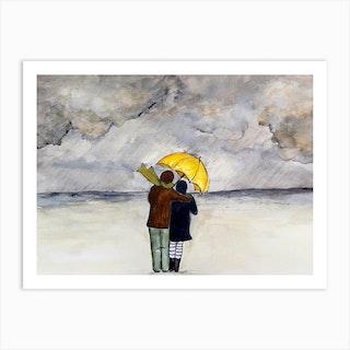 Come Rain Or Shine Art Print