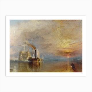 The Fighting Temeraire, Joseph Mallord William Turner Art Print