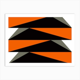 Geometric Abstraction 153 Art Print