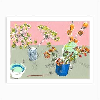 October Still Life  Art Print