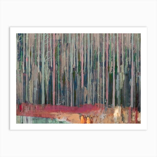 Forests Edge Art Print