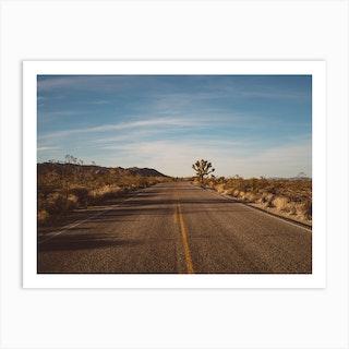 Joshua Tree Road Ii Art Print