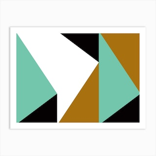 Geometric Abstraction 161 Art Print