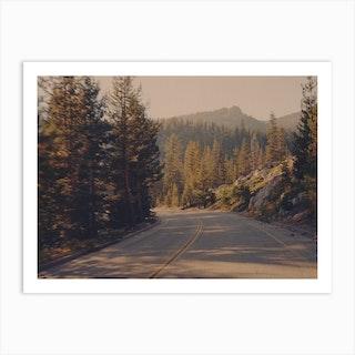Yosemite Road Art Print