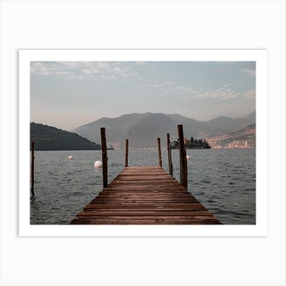 Lake Of Iseo Italy Art Print