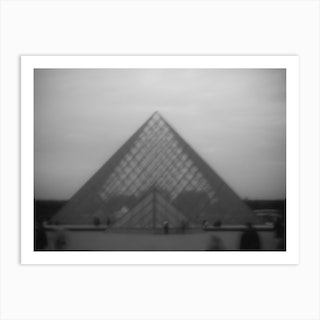 Ghosts Of Louvre Art Print