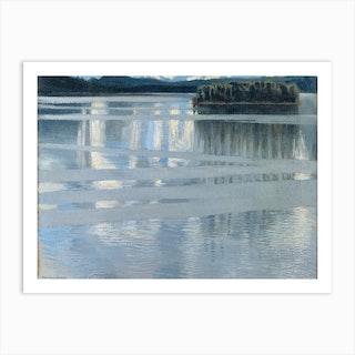 Lake Keitele, Akseli Gallen-Kallela Art Print