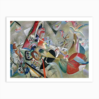 In The Grey, 1919 by Wassily Kandinsky Art Print