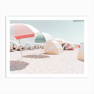Pastel Beach I Art Print
