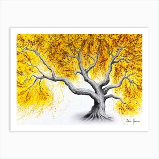 Sunshine Tree Art Print