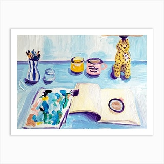 Home Office Art Print