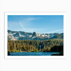 Crystal Crag From Twin Lakes Art Print