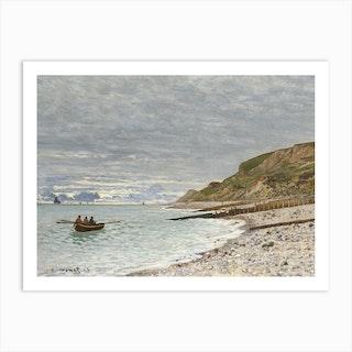 La Pointe De La Heve Sainte Adresse, Claude Monet Art Print