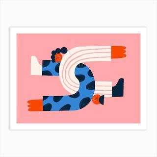 Sleeping Together Art Print