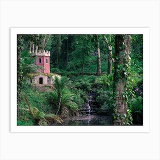 Jungle Palace Art Print