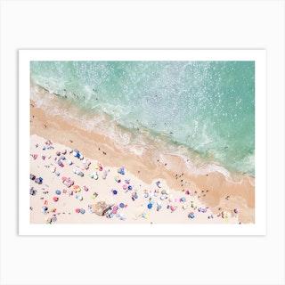 Colours Of The Beach Art Print