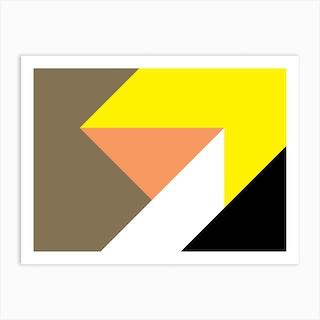 Geometric Abstraction 274 Art Print