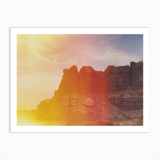 Utah Flair Art Print