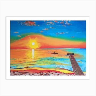 We Will Be The Sunrise Art Print