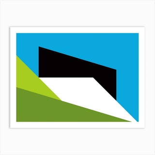Geometric Abstraction 314 Art Print