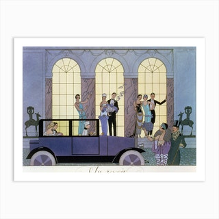 Georges Barbier  Art Print